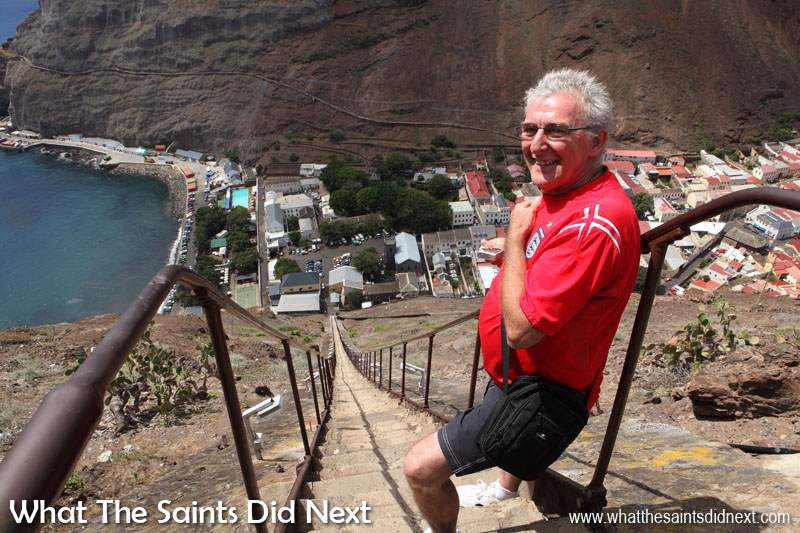Things to do on St Helena - Walk Jacob's Ladder, all 699 steps.