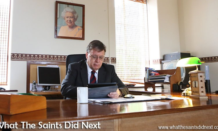 Governor of St Helena, Mark Capes – Final Report