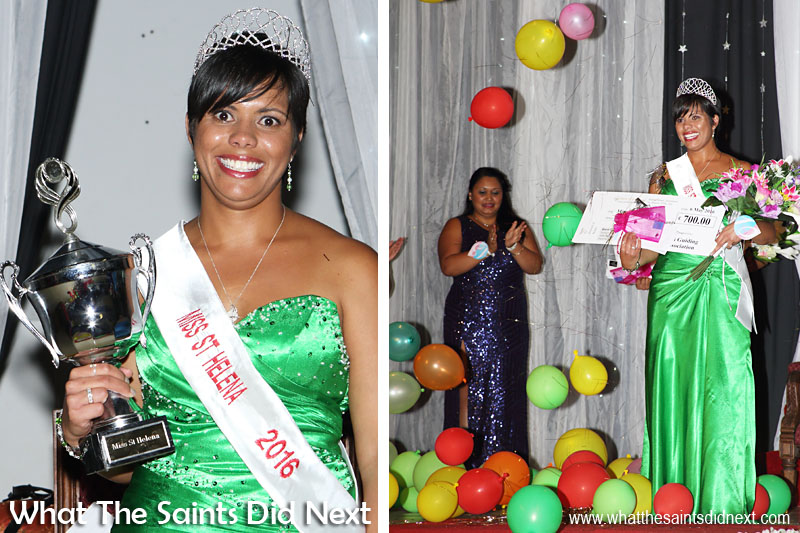 Kimley Yon is Miss St Helena 2016.