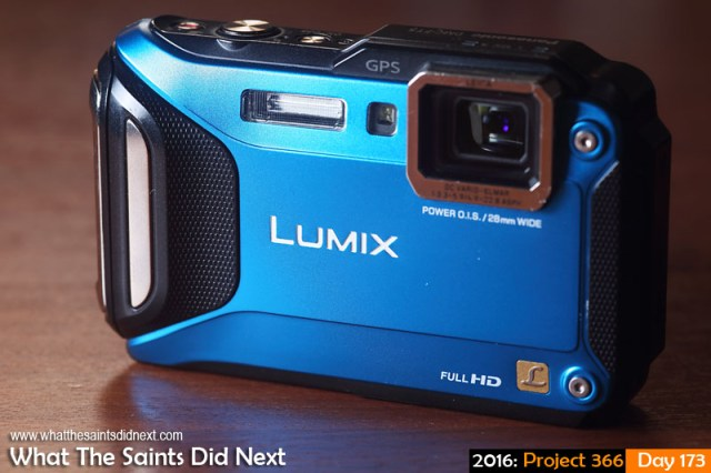 'Winter' 21 June 2016, 15:10 - 1/125, f/8, ISO-100 + flash x1 What The Saints Did Next - 2016 Project 366 Panasonic Lumix DMC-FT5 compact camera.