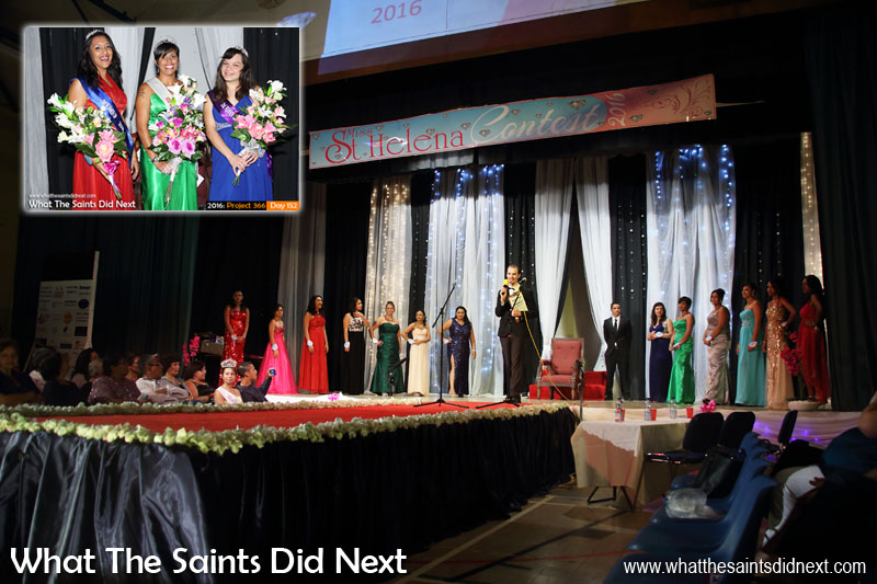 Day 127 of Project 366 - a night of glitz and glamour at the 2016 Miss St Helena beauty pageant on 6 May gave us plenty of images to choose from.