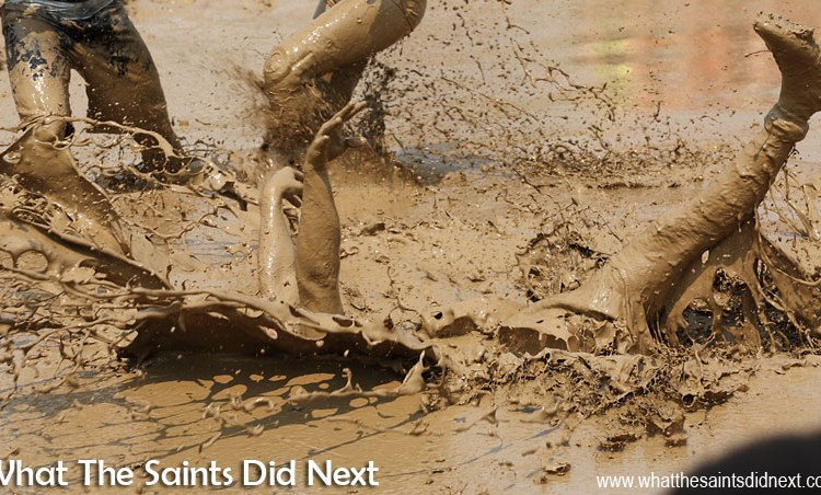 Digging Deep In Mud Volleyball – Hannibal, Missouri