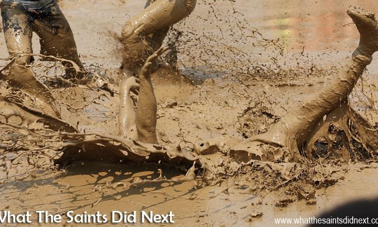 Digging Deep In Mud Volleyball – Hannibal, Missouri