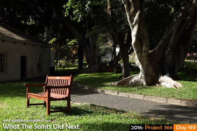 'Extended March' 11 July 2016, 15:33 - 1/160, f/8, ISO-200 What The Saints Did Next - 2016 Project 366 Castle Gardens, Jamestown, St Helena.