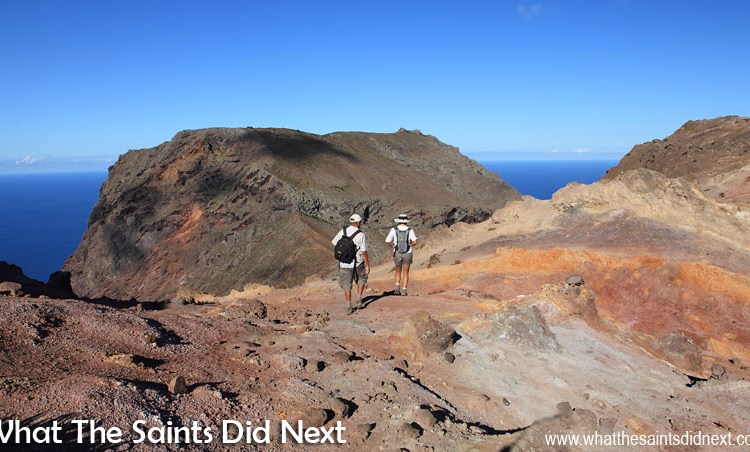 Big, Bad, Gnarly: The Barn, St Helena – Island's Most Difficult Post Box Walk