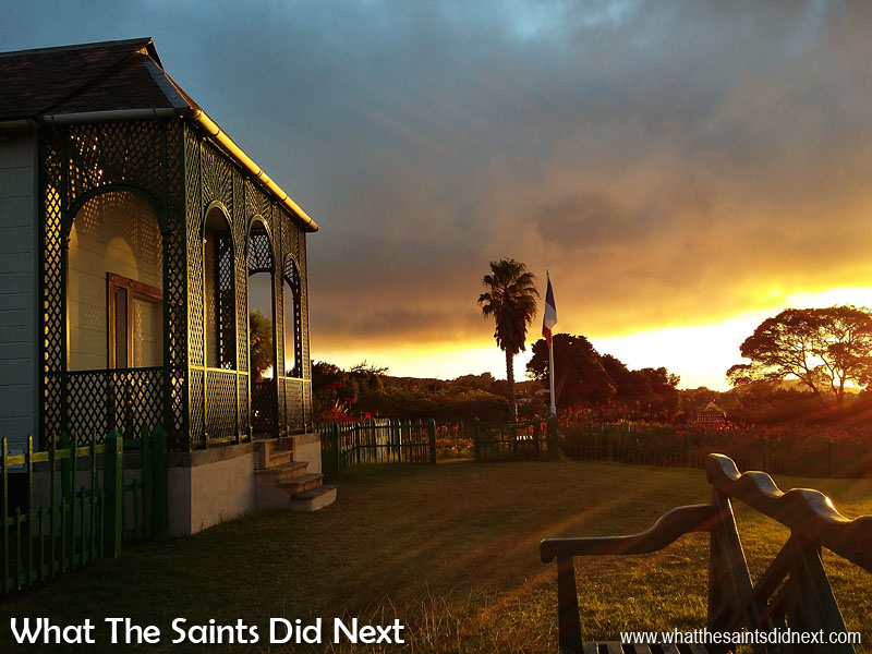 Use The Light - The lighting principles of photography are just as important with mobile photography. The 'golden hour' even with an overcast sky worked brilliantly for this shot of Longwood House, Napoleon's final home, on St Helena. Tips To Improve Your Mobile Photography.