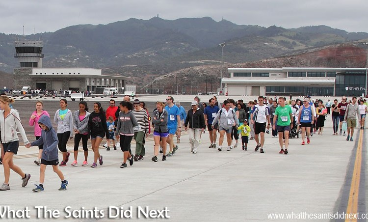 The First St Helena Airport Runway Dash Is A 'Shear' Delight