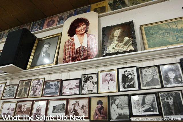 In the Ernest Tubb Record Shop, Nashville, Tennessee, 90% of all the pictures on the walls are country music artists who've played for the Midnite Jamboree.  The Ernest Tubb Record Shop and the Mid Nite Jamboree.