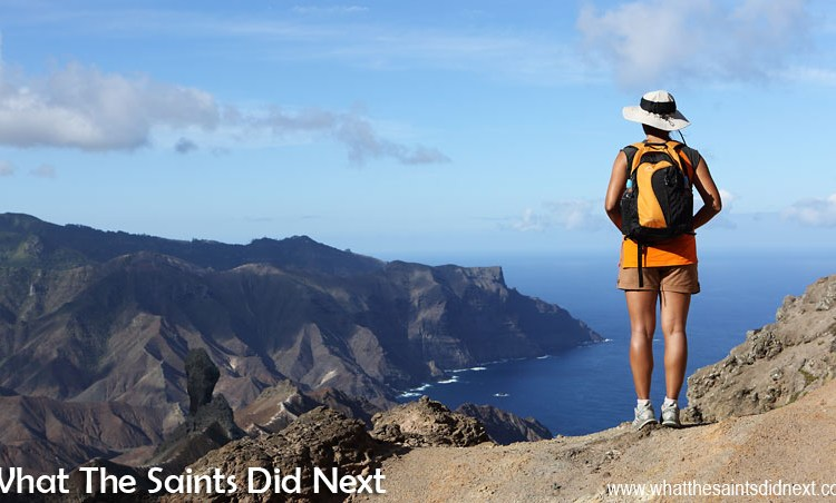 The Blue Point Post Box Walk, St Helena