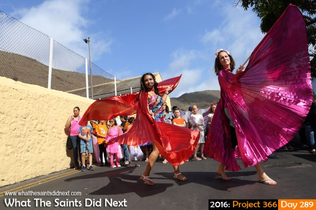 'Taking Flight' 15 October 2016, 15:32 - 1/500, f8, ISO-200 What The Saints Did Next - 2016 Project 366 Carnival 2016 in St Helena, raising funds for Cancer Support and Awareness.