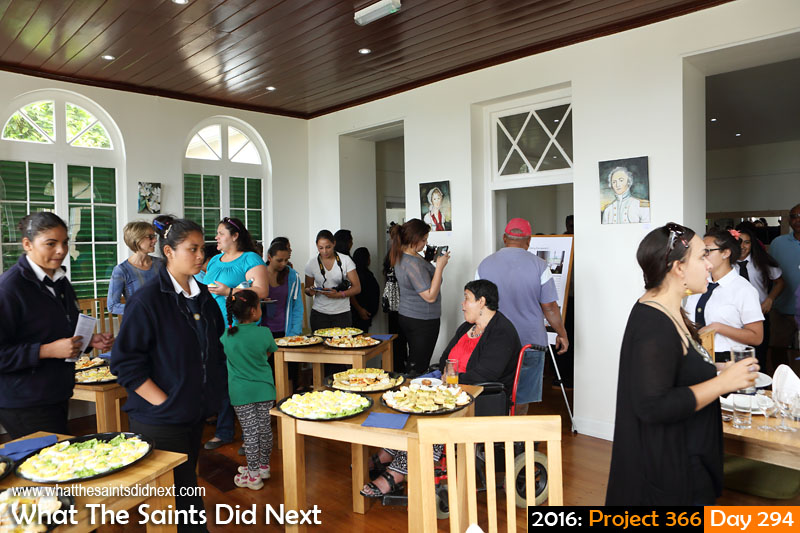 'Suspense' 20 October 2016, 12:26 - 1/60, f6.3, ISO-400 What The Saints Did Next - 2016 Project 366 Re-opening of Bertrand's Cottage in Longwood, St Helena.