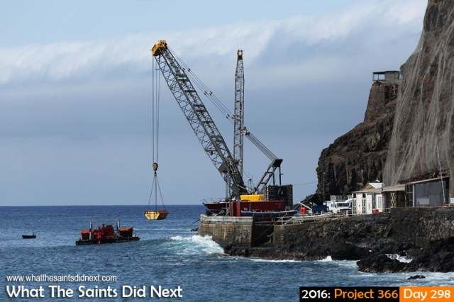 'Jungle beat' 24 October 2016, 15:03 - 1/800, f8, ISO-200 What The Saints Did Next - 2016 Project 366 Monday afternoon on the Jamestown wharf, St Helena.