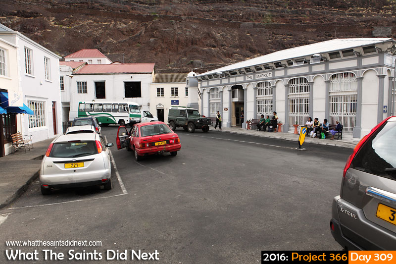 'A Long March' 4 November 2016, 16:07 - 1/100, f8, ISO-400 What The Saints Did Next - 2016 Project 366 The Bridge in Jamestown, St Helena on a Friday afternoon.