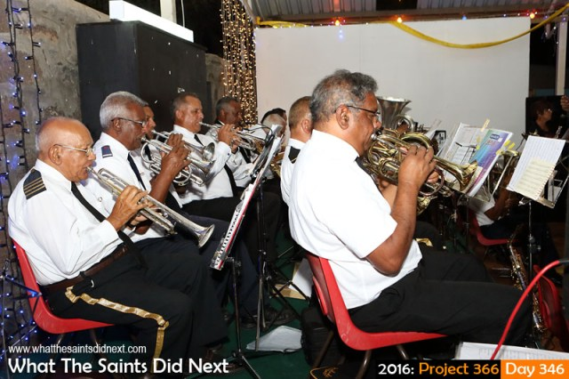 'Lion King Lekatoo' 11 December 2016, 21:17 - 1/100, f5.6, ISO-800 What The Saints Did Next - 2016 Project 366 Traditional 'Let The People Sing' Christmas event at Mule Yard, St Helena.