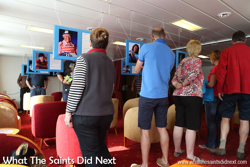 Our 2009 exhibition, 'Roots & Shoots,' showcased 25 different Saints and their individual stories. In 2015 during a voyage on the RMS St Helena, it was displayed for the first time since the original show.