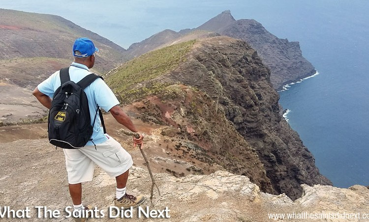 The Sugar Loaf Post Box: Coastline Hiking On St Helena