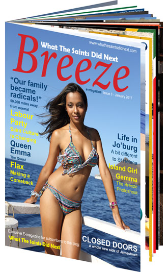 The Breeze 3 e-magazine from What The Saints Did Next