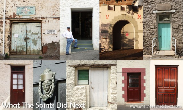 The Doors of Jamestown is a special feature in Breeze 3 E-Magazine. How much attention do people pay to the variety and style of doors on the street? When we put them all together it becomes clear how much character the humble door adds to St Helena's capital.