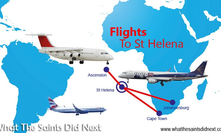 Flights To St Helena: 8 Things We Know About The St Helena Air Service Tender