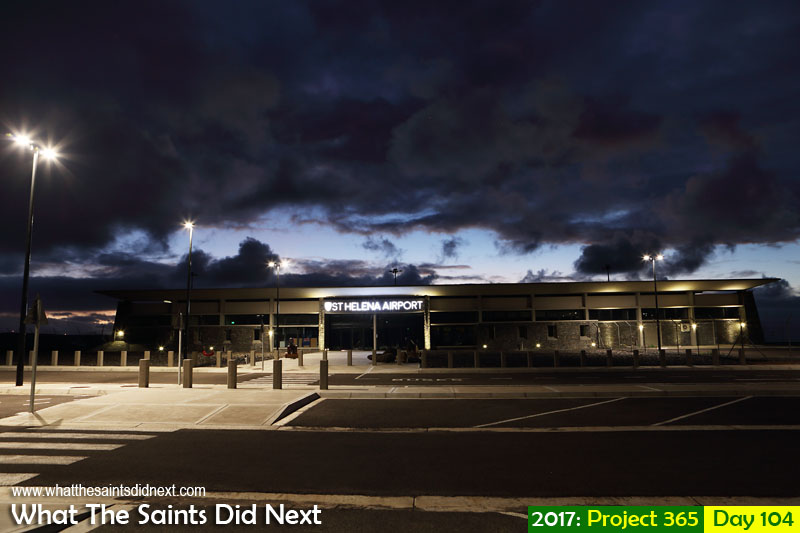 "'Don't photograph the plane'<br /> 14 April, 2017, 06:03 - 1.6 sec, f8, ISO-200<br /> <a href=""http://whatthesaintsdidnext.com/st-helena-airport-news-a-good-week/"" target=""_blank"" rel=""noopener"">HLE Airport</a> at dawn."