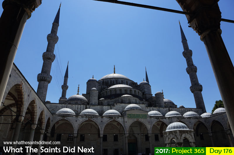 The historic Blue Mosque, Istanbul, Turkey.