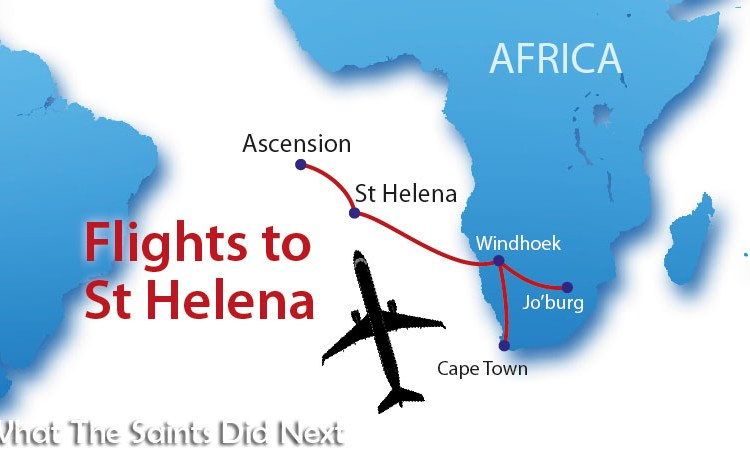 Flights to St Helena From Johannesburg and Cape Town Announced
