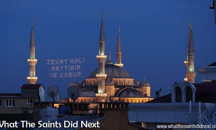 Muslim Call To Prayer In Istanbul – The Spell Is Cast
