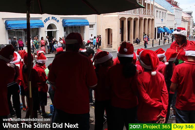 "'Man flu'<br /> 12 December, 2017, 12:15 - 1/250, f8, ISO-200<br /> Pilling Primary School singing <a href=""http://whatthesaintsdidnext.com/2016/12/23/the-spirit-and-traditions-of-christmas-on-st-helena/"">Christmas carols in Jamestown</a>."