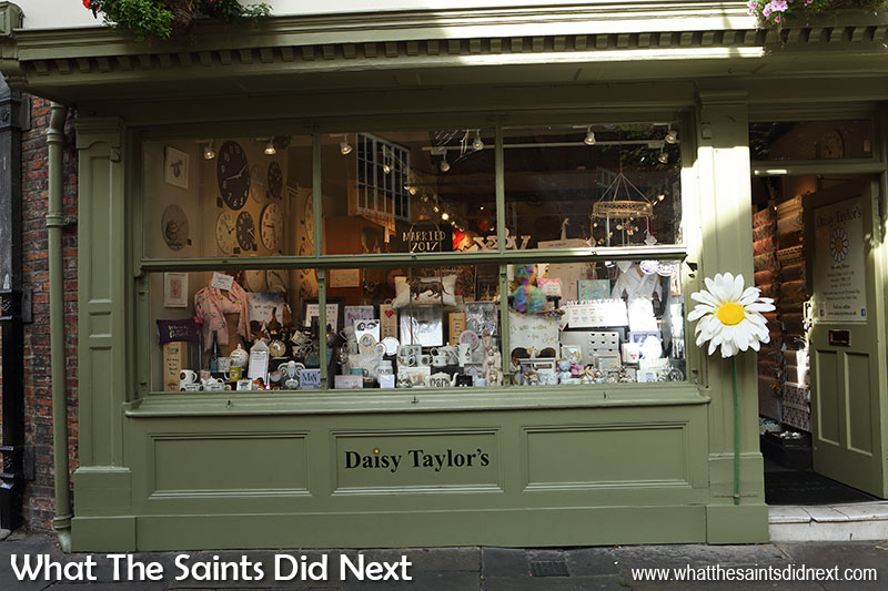 "<a href=""https://www.daisytaylors.co.uk/"" target=""_blank"" rel=""noopener"">Daisy Taylor's shop</a> in York England is the place to go for wedding presents and gifts for special occasions."