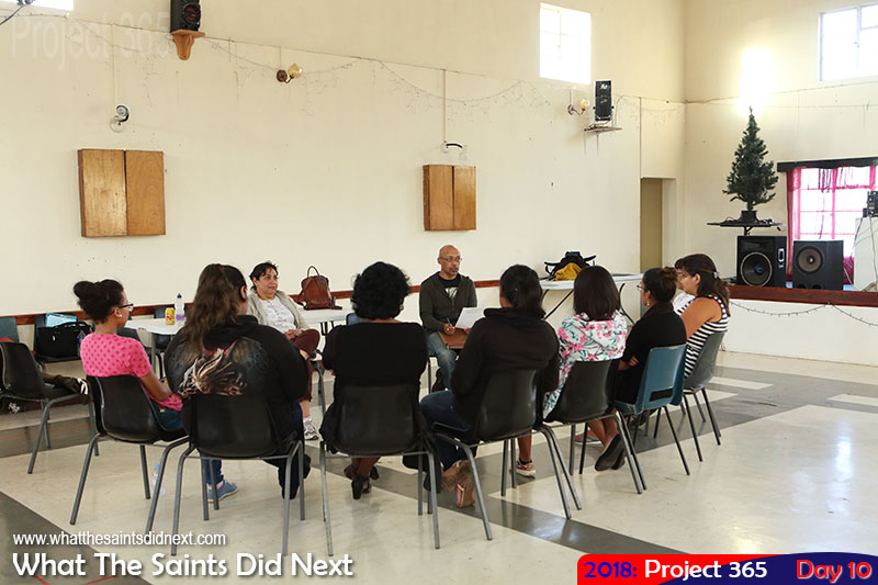 """Planning meeting underway for the <a href=""""http://whatthesaintsdidnext.com/miss-america-and-miss-st-helena-re-vamping-beauty-pageant/"""" target=""""_blank"""" rel=""""noopener"""">MSH2018</a> pageant. January, 2018."""