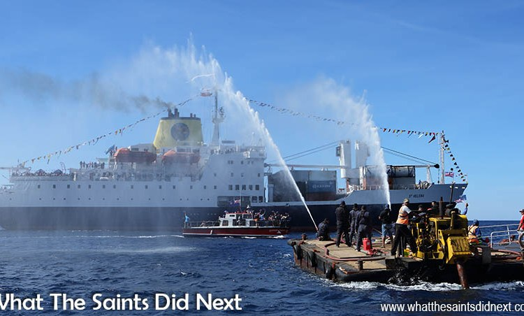 Bon Voyage – St Helena Bids A Tearful Goodbye To The RMS St Helena