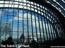 The Sky Garden On The Walkie Talkie Building in London
