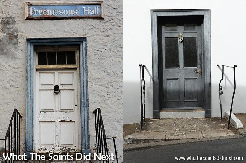 Door photography in Jamestown, St Helena