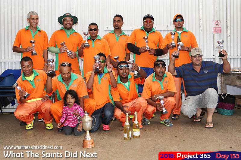 Levelwood Allstarz Cricket League Knockout Champions, 2018.