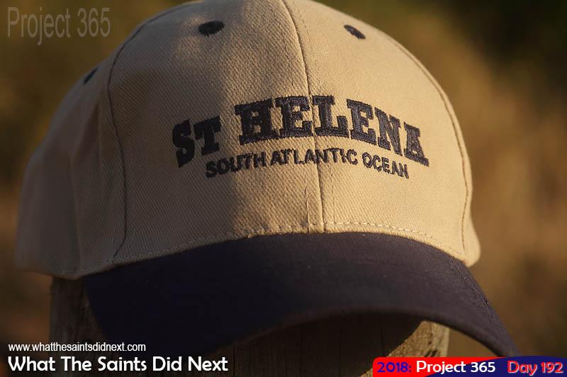 Souvenir baseball cap.