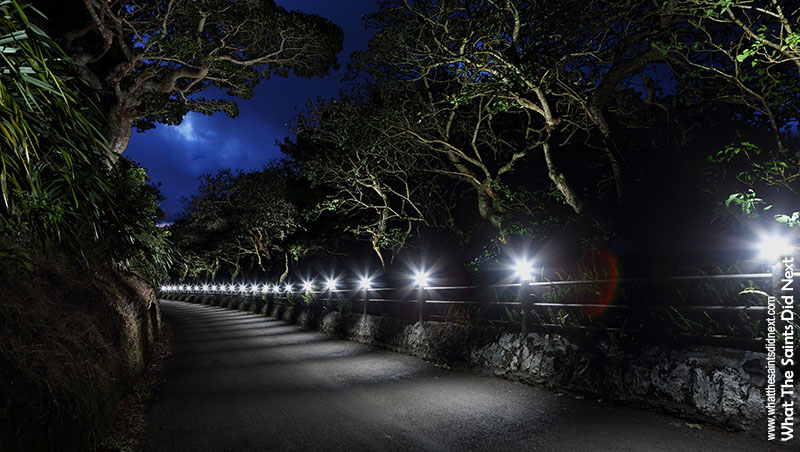 Strobist Landscape Photography – St Helena at Night