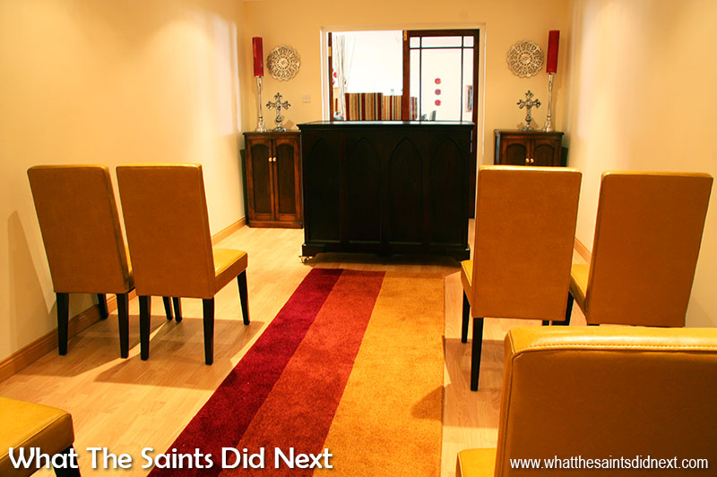 A small chapel was designed into the new St Helena care home.
