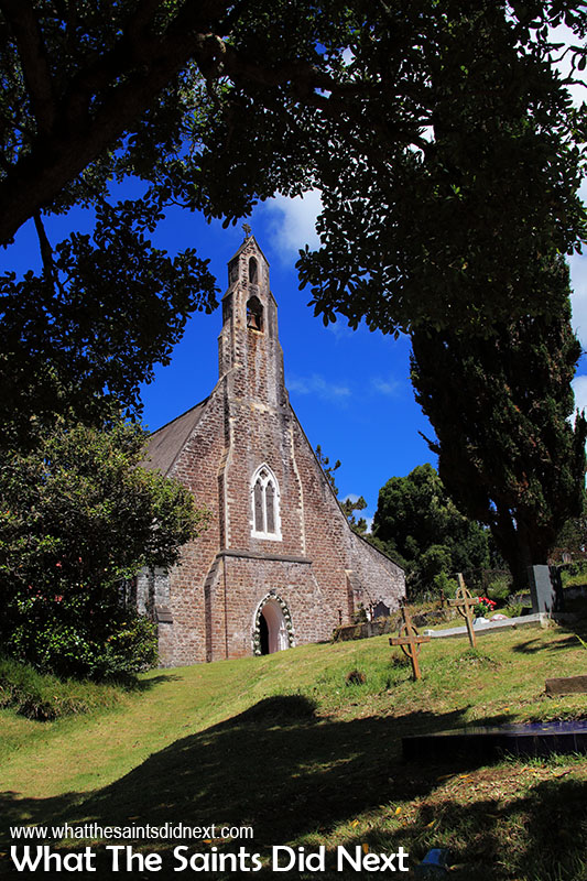 St Pauls Cathedral from the bottom of the church yard, St Helena.