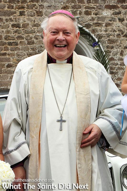 Bishop Richard Fenwick served as bishop of St Helena from 2011-2018.