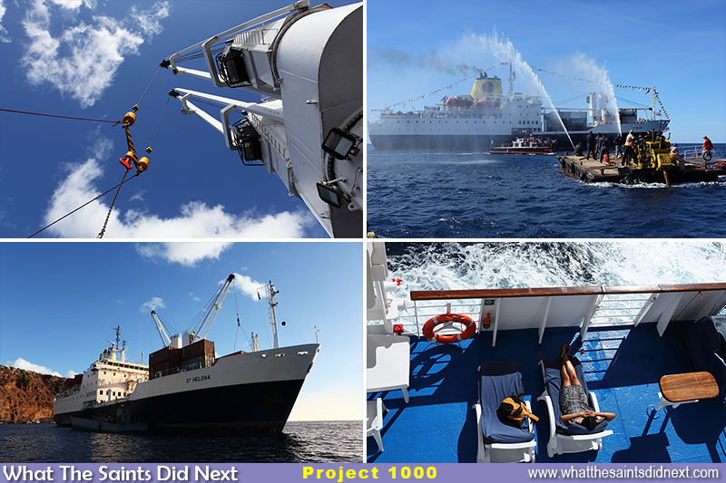 "1000 Days 1000 pictures - Just a few of the enduring memories of the <a href=""http://whatthesaintsdidnext.com/2018/02/10/bon-voyage-st-helena-bids-tearful-goodbye-to-the-rms-st-helena/"" target=""_blank"" rel=""noopener"">RMS St Helena</a>, all captured during the project timeline."