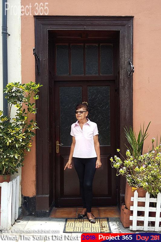 Irene Harris of Harris' Guesthouse.