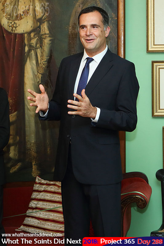 Christophe Farnaud, the Ambassador of France to South Africa.