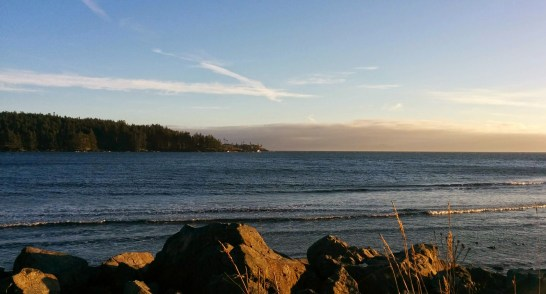Gorgeous February Weather in Sooke