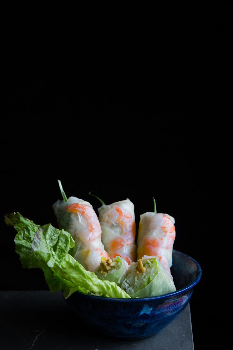Vietnamese Fresh Spring Rolls (Goi Cuon)
