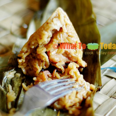 RICE CONES/ ZONG ZI/ BAK CHANG (USING JASMINE RICE)