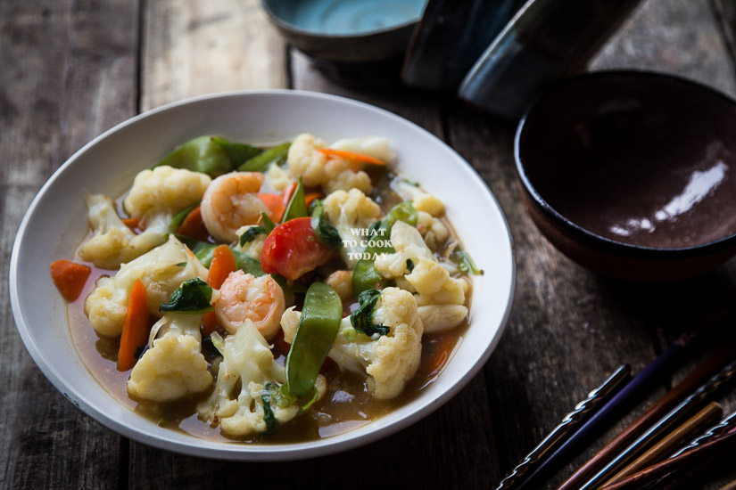 Indonesian Stir-fried Vegetable / Cap Chay