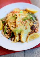 PAN-FRIED FISH WITH SHALLOTS AND DILL