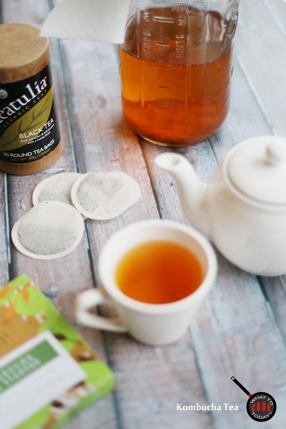REFRESHING KOMBUCHA TEA