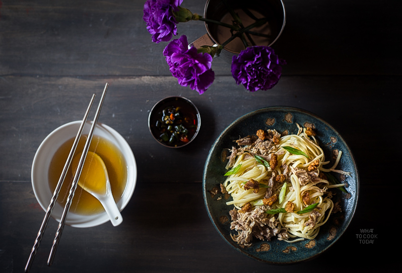 Hakka Pork Noodles (Bakmi Khek Medan)