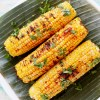 grilled corn with sweet spicy sauce/ jagung bakar pedas manis